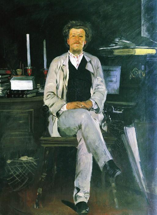 Портрет И.Ф.Тюменева. 1886-1888. Andrei Riabushkin