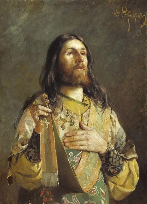 Диакон. 1888. Andrei Riabushkin