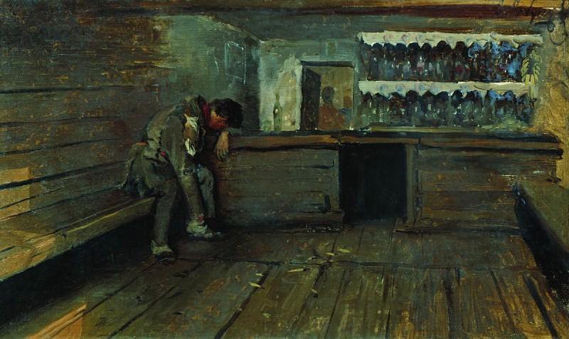 Кабак. 1891. Andrei Riabushkin