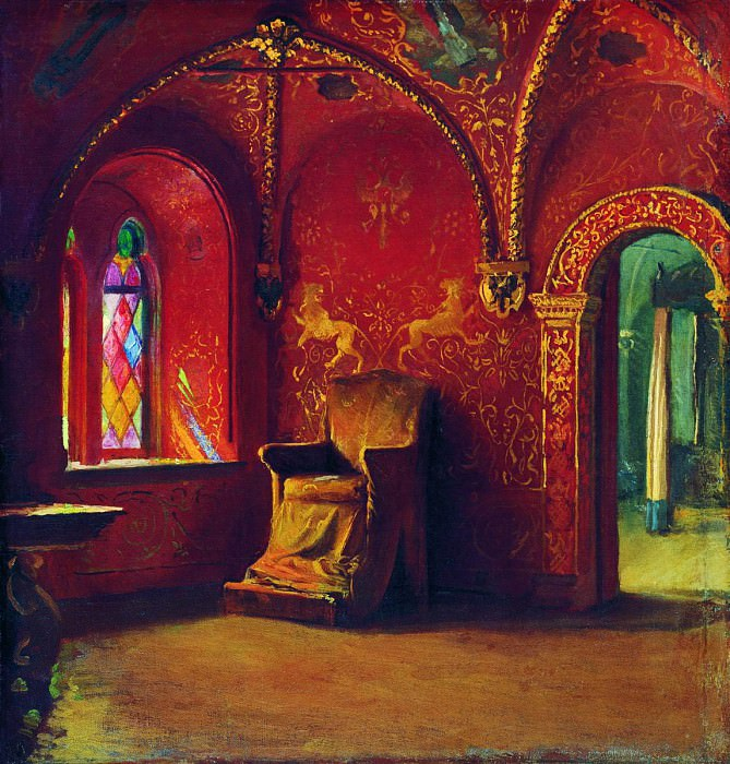Красная палата. 1889. Andrei Riabushkin
