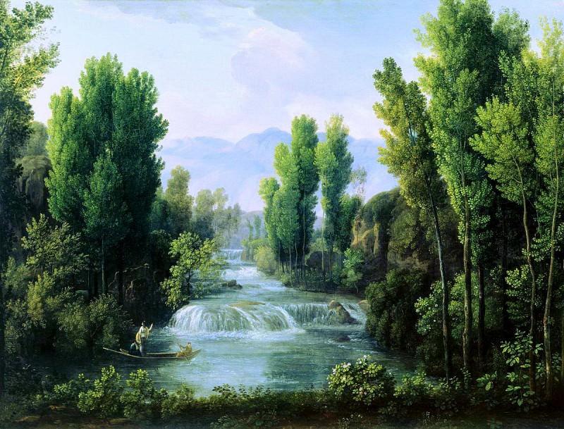 Пейзаж с Водопадом. Федор Михайлович Матвеев