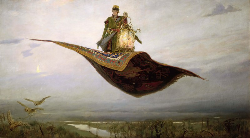 The Magic Carpet. Viktor Vasnetsov