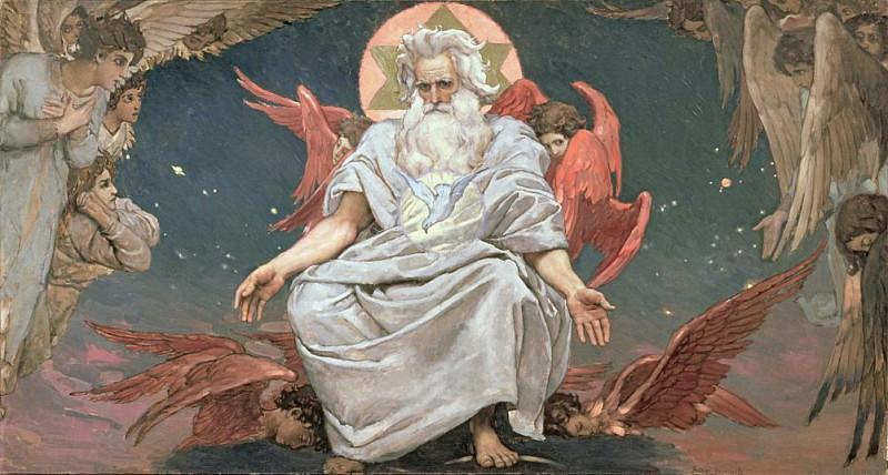 Savaoph, God the Father. Viktor Vasnetsov