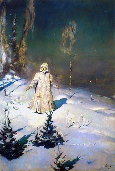 The Snow Maiden. Viktor Vasnetsov