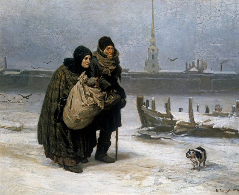 From Lodging to Lodging. Viktor Vasnetsov