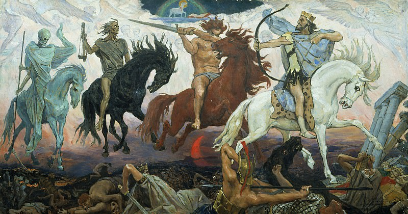 The Four Horsemen of the Apocalypse. Viktor Vasnetsov