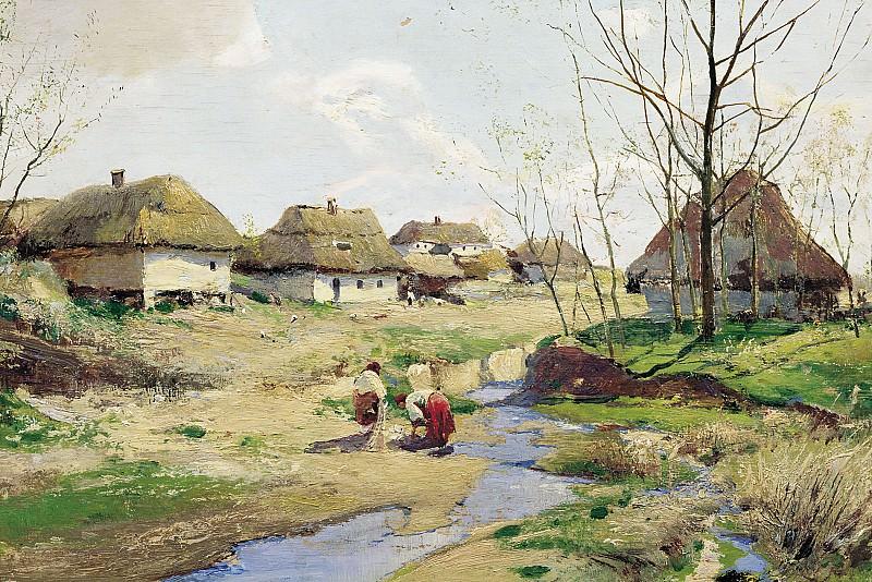 Весенний день на Украине. Сергей Васильковский