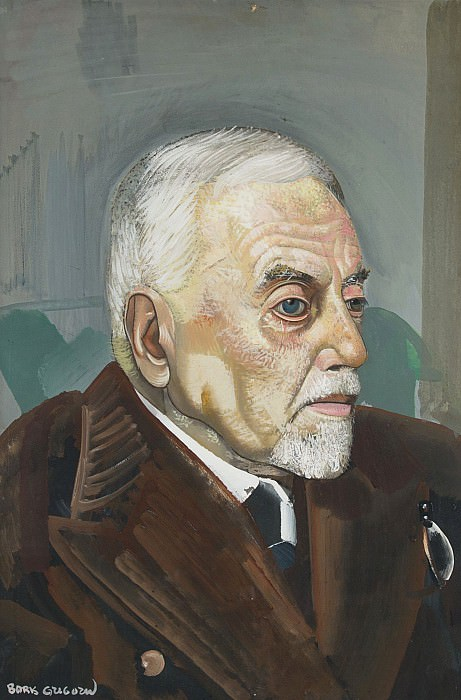 Portrait of a Man. Boris Grigoriev