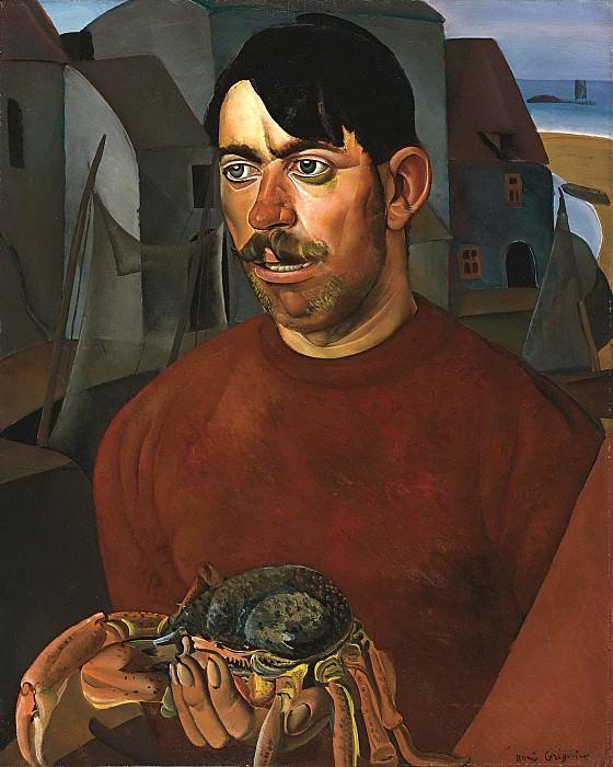 Fisherman. Boris Grigoriev