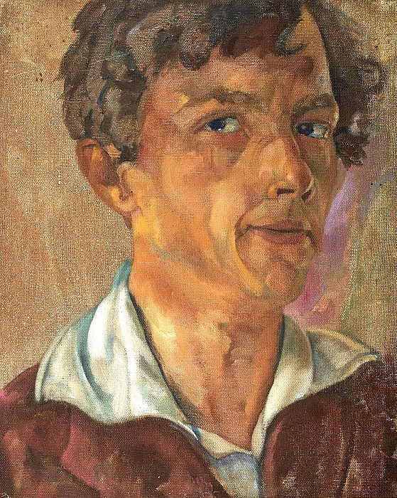 Self-portrait. Boris Grigoriev
