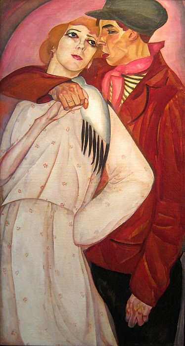 Zhigan and prostitute. Boris Grigoriev