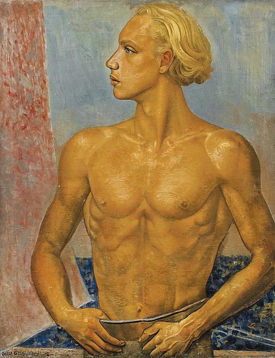Portrait of The Artist's Son. Boris Grigoriev