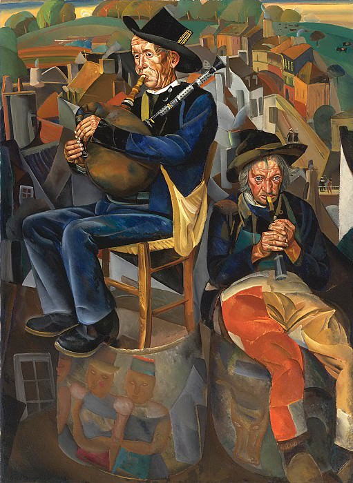 Pipe Players. Boris Grigoriev
