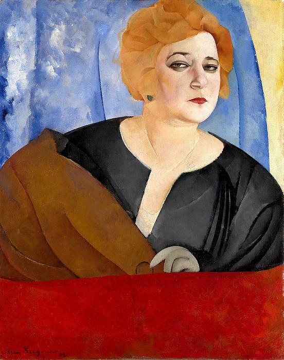 Anna Sergeeva. Boris Grigoriev
