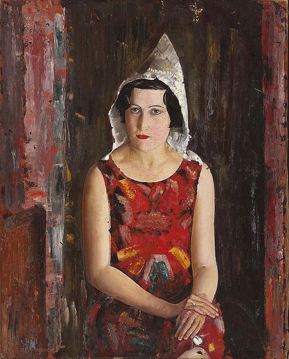 The girl from California. Boris Grigoriev