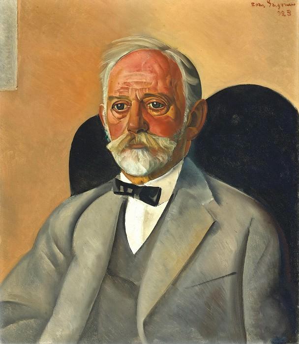 Portrait Of a Gentleman. Boris Grigoriev