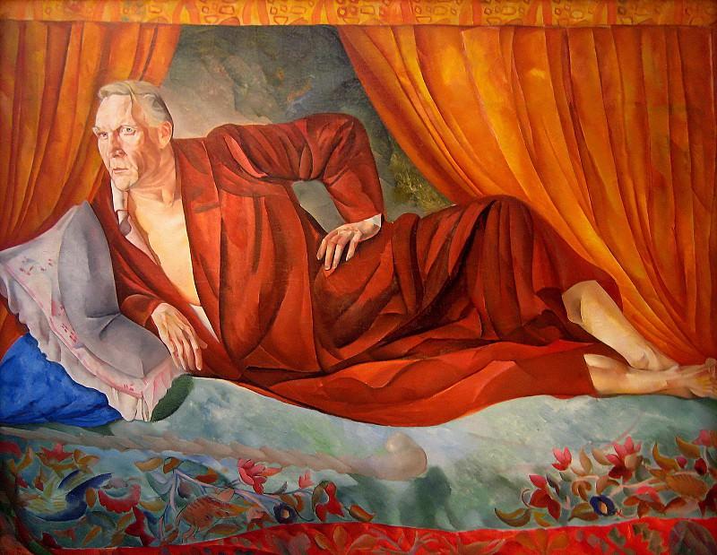 Портрет Шаляпина. Борис Дмитриевич Григорьев