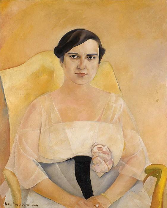 Portrait Of A Lady. Boris Grigoriev