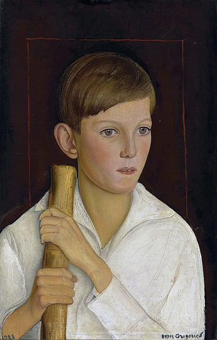 Portrait of Patricio Edwards. Boris Grigoriev