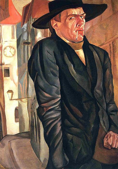 Self-Portrait. Boris Grigoriev