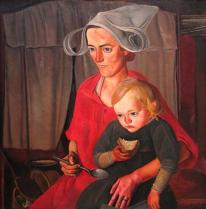 Poverty. Boris Grigoriev