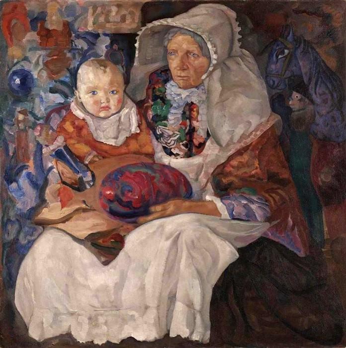 Childhood. Boris Grigoriev