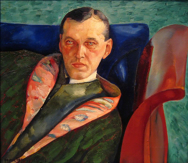 Portrait of A. A. Korovin (Collector). Boris Grigoriev