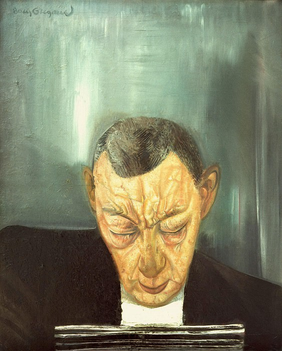 Portrait of Composer Rachmaninov. Boris Grigoriev
