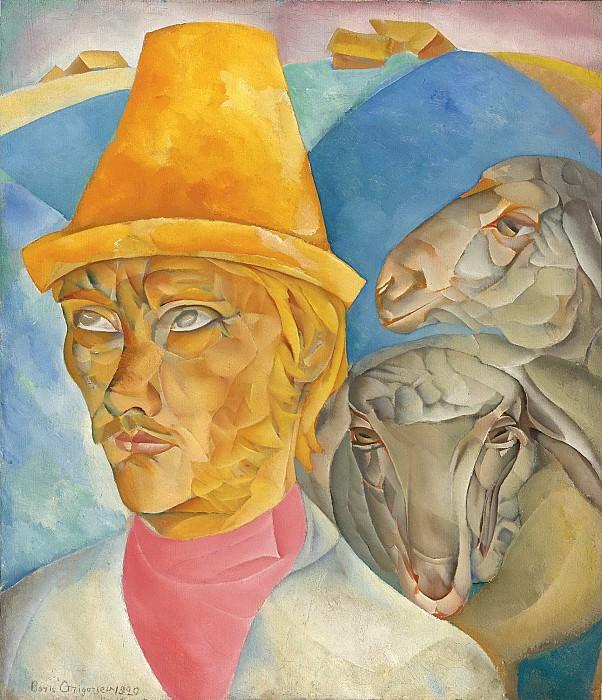 Shepherd of the hills. Boris Grigoriev