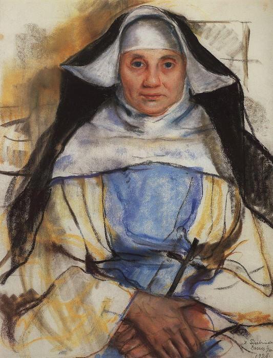 Монахиня из Кассиса. Зинаида Евгеньевна Серебрякова