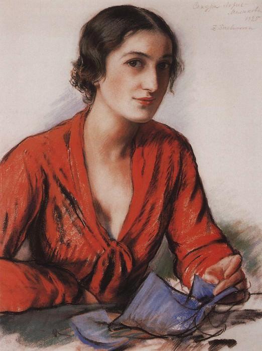 Sandra Loris Melikova. Zinaida Serebryakova