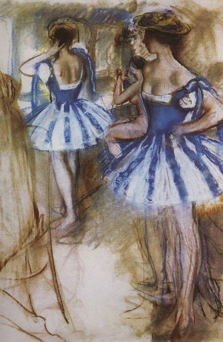 Two dancers. Zinaida Serebryakova