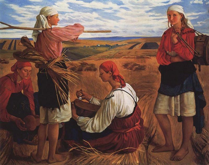 Harvest. Zinaida Serebryakova