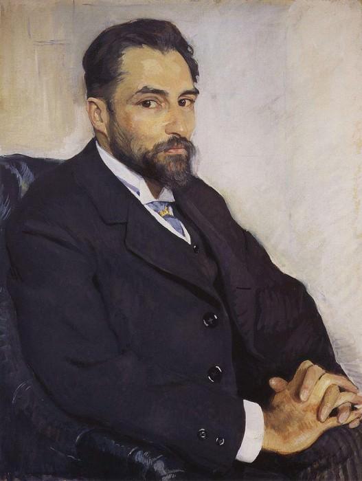 Портрет М. Н. Бенуа. Зинаида Евгеньевна Серебрякова
