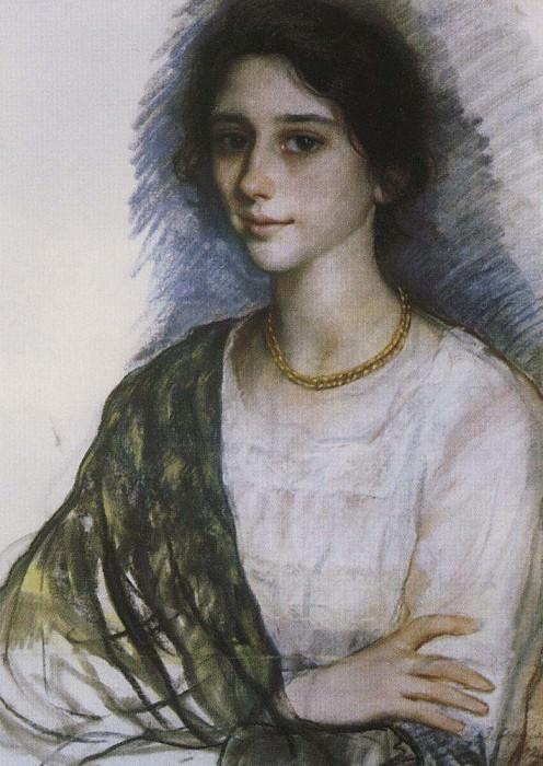 The portrait of a woman. Zinaida Serebryakova