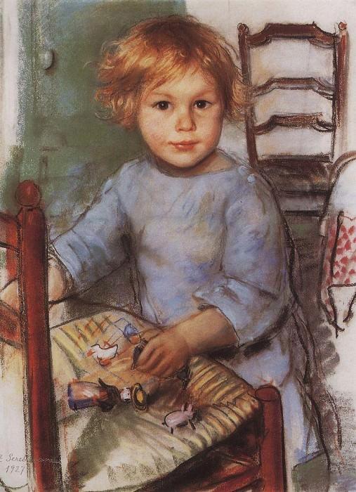 S. Prokofiev. Zinaida Serebryakova