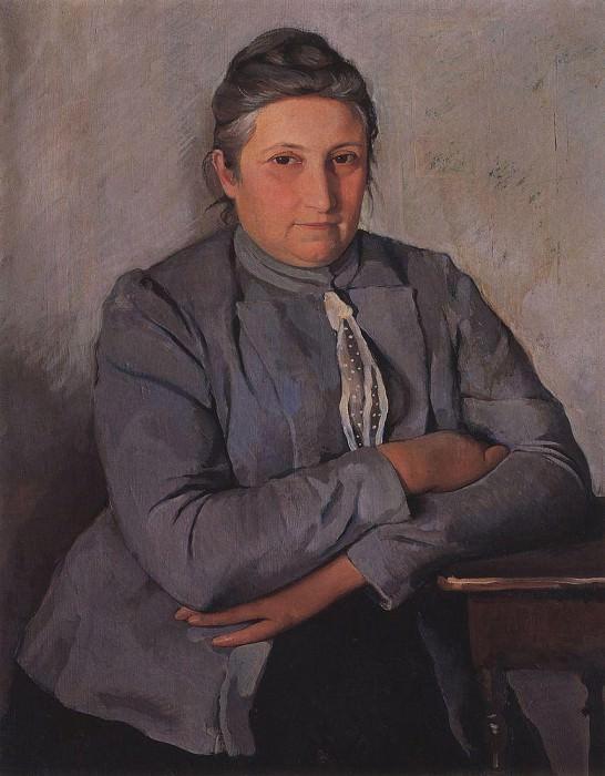 Портрет Е. Н. Лансере, матери художницы. Зинаида Евгеньевна Серебрякова