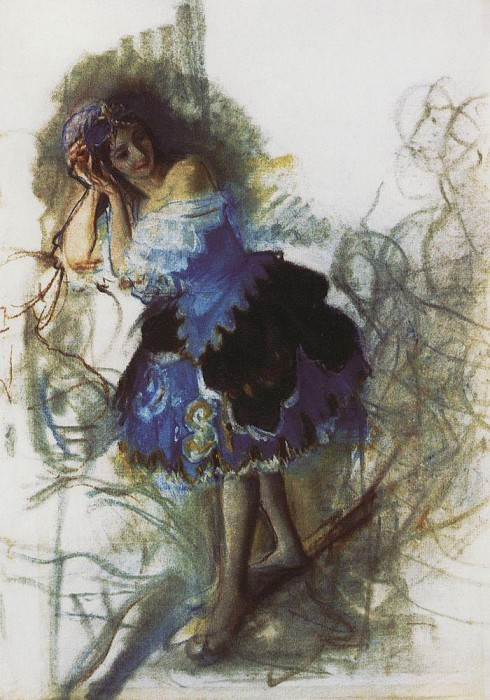 The dancer. Zinaida Serebryakova