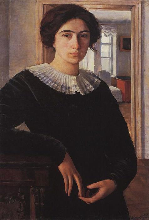 Portrait of E. K. Lansere. Zinaida Serebryakova