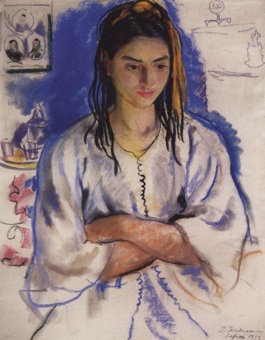 The Jewish girl from Sefrou. Zinaida Serebryakova