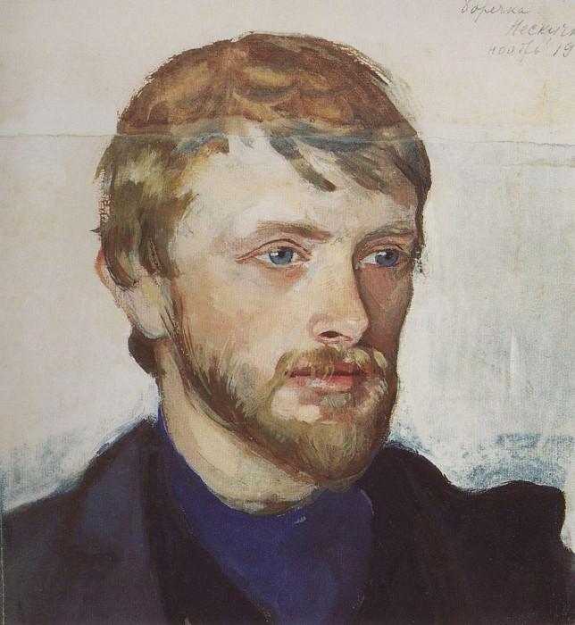 Портрет Б. А. Серебрякова. Зинаида Евгеньевна Серебрякова