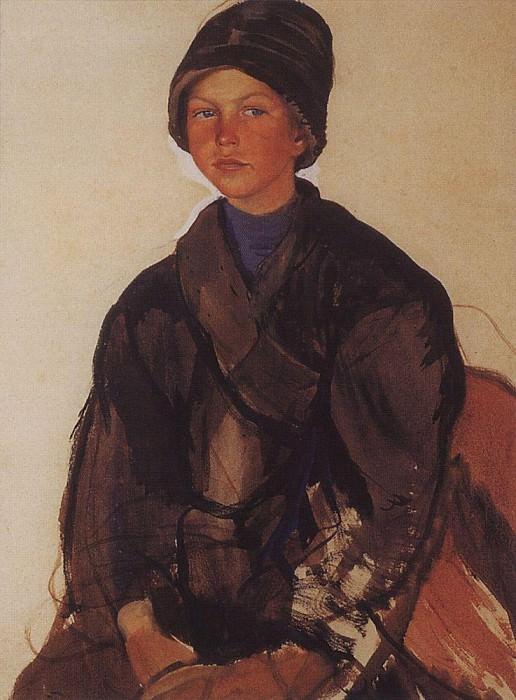 Портрет мальчика. Зинаида Евгеньевна Серебрякова