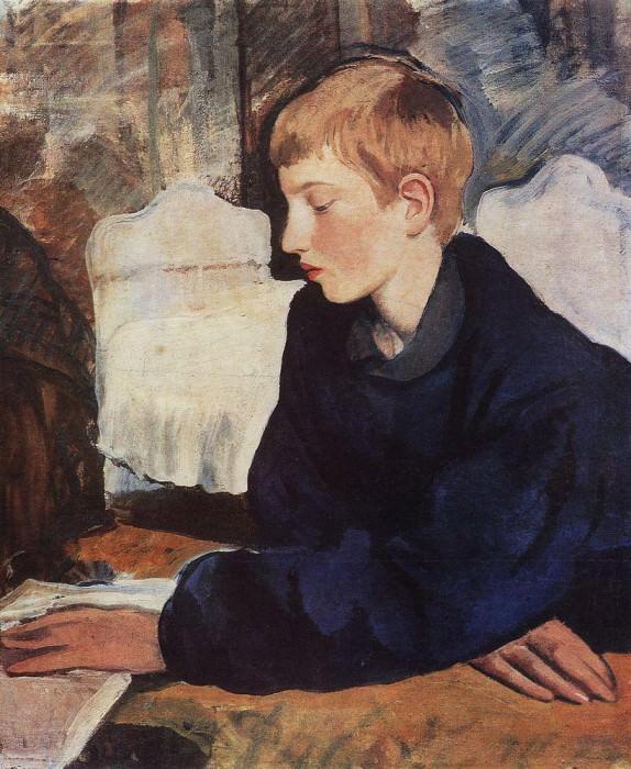 Zhenya Portrait of a painter s son. Zinaida Serebryakova