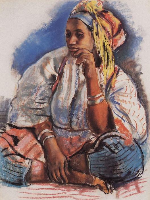 Moroccan woman. Zinaida Serebryakova