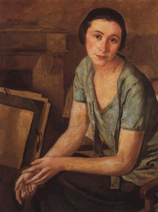 Portrait of S. N. Andronikova-Halpern. Zinaida Serebryakova
