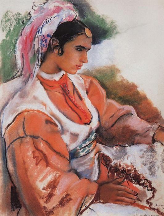 Young Moroccan. Zinaida Serebryakova