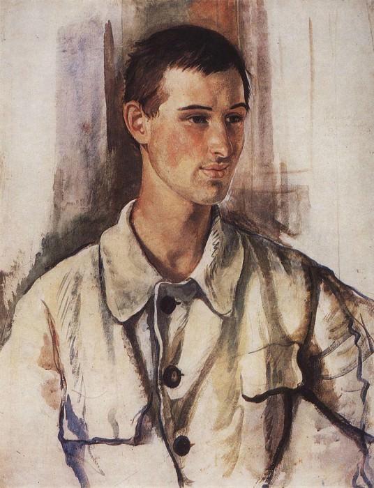 Portrait of V. M. Dukelsky. Zinaida Serebryakova