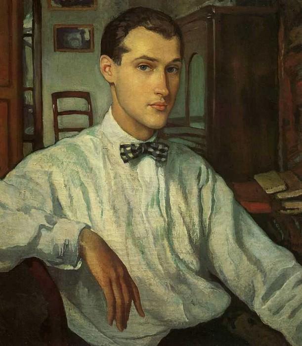 Portrait of S. R. Ernst. Zinaida Serebryakova