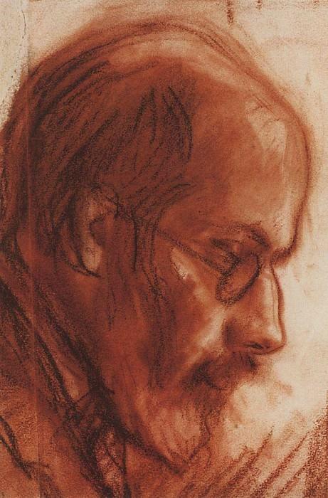 Portrait of A. N. Benois 2. Zinaida Serebryakova