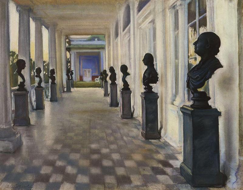 Cameron Gallery at Tsarskoye Selo. Zinaida Serebryakova